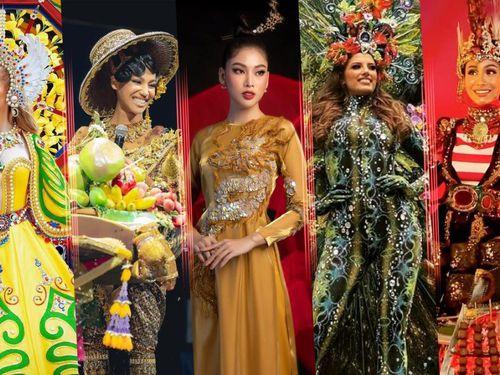 Trang phục dân tộc Miss Grand Int' 2020: Indonesia - Thái Lan quá độc đáo, Guatamala siêu hoành tráng