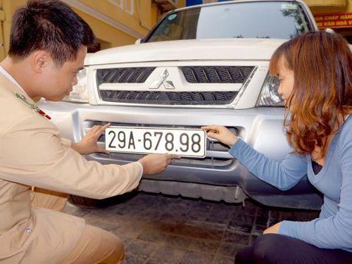 Thay đổi địa chỉ đăng ký xe ô tô của 4 quận nội thành Hà Nội
