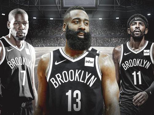 Nets mạnh cỡ nào với 3 ngôi sao lương hơn 100 triệu USD?