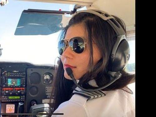 Ước mơ của nữ phi công gốc Việt