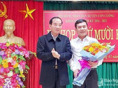 Nhân sự mới tại Nghệ An