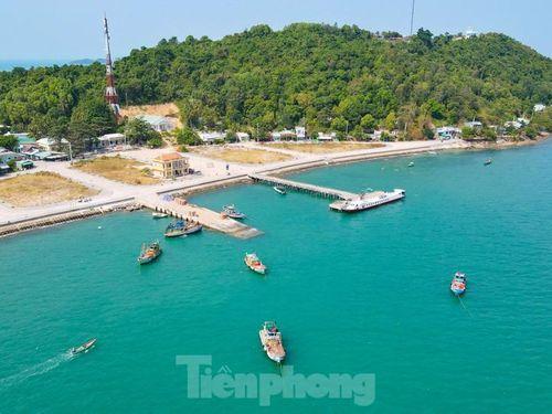 Ngất ngây vẻ đẹp xã đảo Tiên Hải