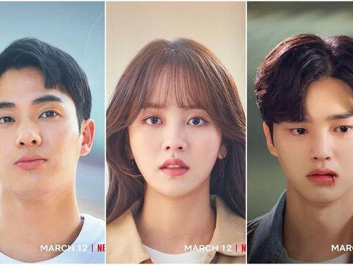'Love Alarm 2' tung loạt poster đầu tiên: Sun Oh đau khổ nhìn Jojo về với Hye Yeong?