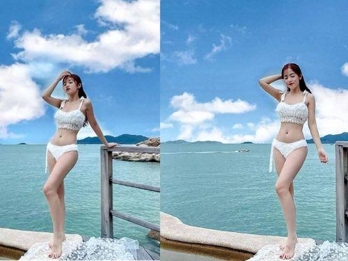 Puka khoe loạt ảnh diện bikini nóng bỏng sau khi ăn Tết