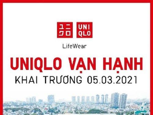 Cửa hàng UNIQLO Vạn Hạnh khai trương vào thứ Sáu, ngày 5/3