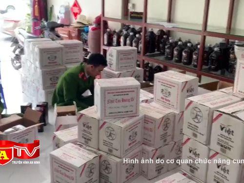 Buộc thu hồi sản phẩm thực phẩm bảo vệ sức khỏe Nhất Tửu Hoàng Đế