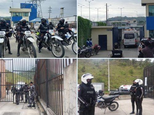 Ít nhất 67 người thiệt mạng trong các vụ bạo loạn ở nhà tù Ecuador