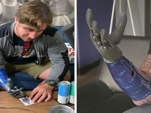 Cánh tay robot của đại úy Mỹ