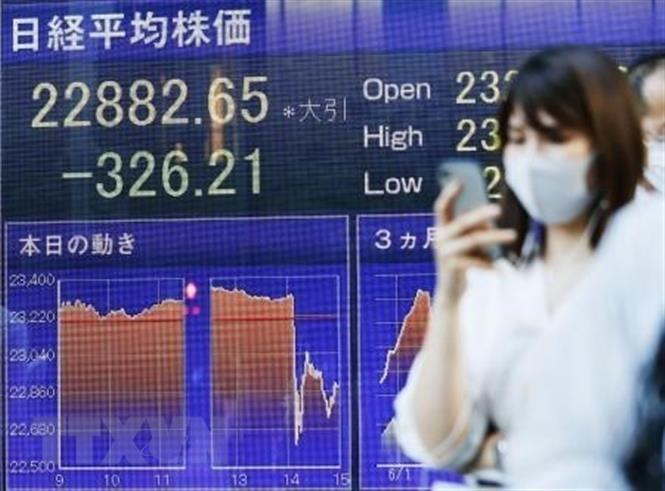 Các thị trường chứng khoán châu Á đi xuống phiên 24/2