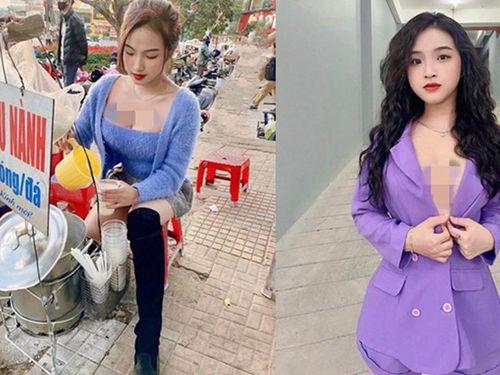 Hot girl bán sữa đậu nành tại Đà Lạt ăn mặc gợi cảm 'gây sốt'