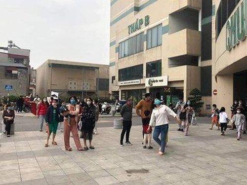 Chung cư Mipec Long Biên bất ngờ bốc cháy, cư dân hoảng loạn tháo chạy