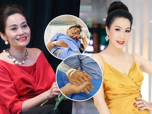 Hội sao Việt đồng lòng giúp NS Thương Tín: Trịnh Kim Chi kêu gọi hơn 76 triệu, Hạnh Thúy chi trả viện phí