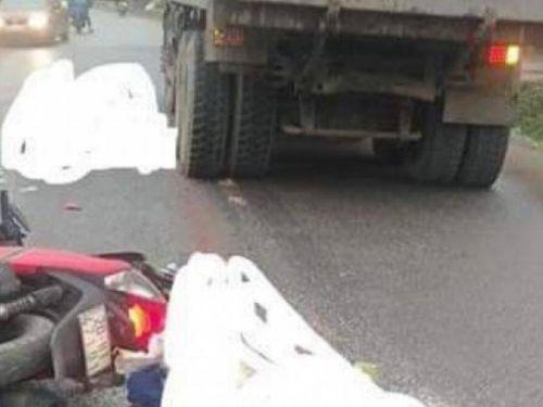 Thái Nguyên: Xe máy vượt ẩu khiến 1 người chết, 2 người bị thương nặng
