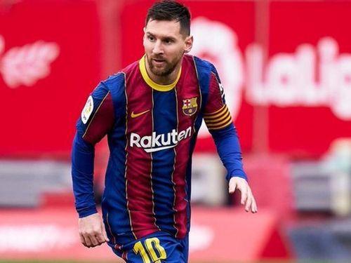 Messi giúp Barca đánh bại Sevilla, lên ngôi nhì bảng La Liga