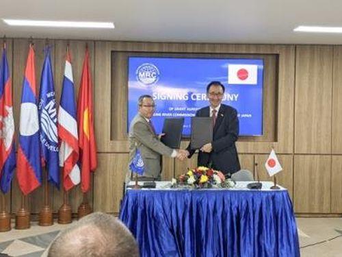Nhật Bản tài trợ 2,9 triệu USD cho hệ thống cảnh báo sông Mekong