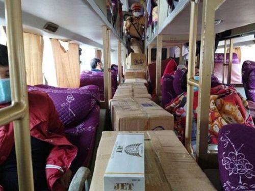 Thừa thiên - Huế: Bắt xe chở 6.500 bao thuốc lá nhập lậu