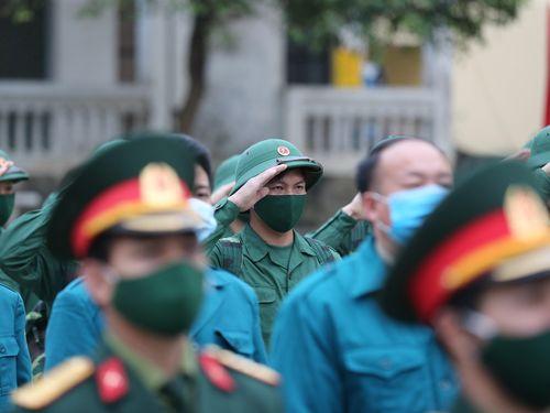 Chùm ảnh: Tân binh vùng phên dậu phía bắc Tổ quốc lên đường nhập ngũ