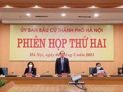 TP Hà Nội: Đẩy nhanh việc chuẩn bị, nâng cao trách nhiệm để công tác bầu cử diễn ra đúng kế hoạch