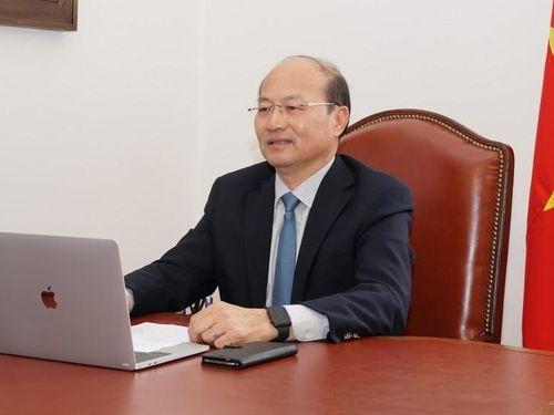 Hội nghị giao thương trực tuyến doanh nghiệp Việt Nam-Slovenia