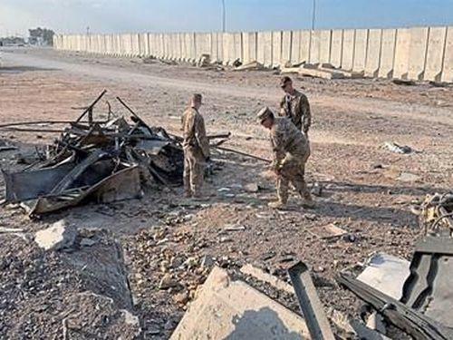 Căn cứ không quân Al Asad của Mỹ ở Iraq lại bị hứng 'mưa' rocket