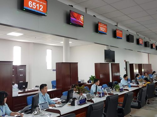 Tạm dừng cấp căn cước công dân tại trung tâm hành chính công ở Long An