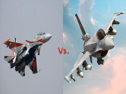Sự thực 2 chiếc Su-30MKI Ấn Độ đẩy lui cùng lúc 8 F-16 Pakistan