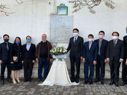 Đại sứ quán Việt Nam tại Algeria tưởng niệm các nhà báo Algeria hy sinh ở Việt Nam