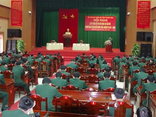 Bộ Chỉ huy Quân sự tỉnh lấy ý kiến cử tri đối với người ứng cử đại biểu HĐND tỉnh