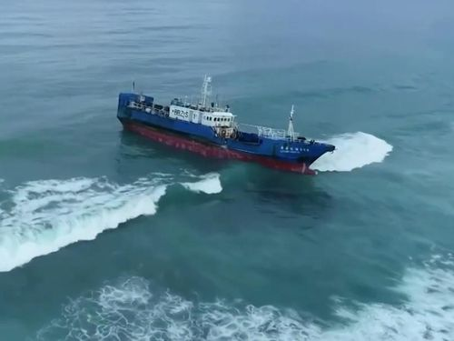 Tàu Trung Quốc chứa 130 tấn dầu mắc cạn ngoài khơi Mauritius