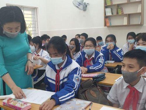 Nhà trường rà soát, bù lấp kiến thức khi học sinh trở lại trường
