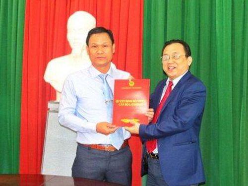 Ông Lê Phước Đức giữ chức vụ Phó Giám đốc Sở Khoa học và Công nghệ