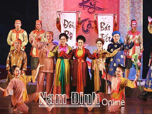 'Ông Trạng kỳ tài' - Vở diễn thành công của Nhà hát Nghệ thuật truyền thống tỉnh Nam Định