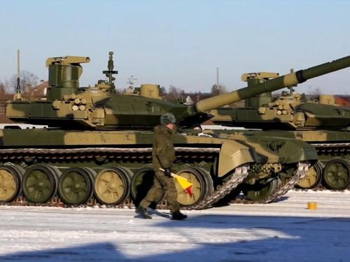 Quân đội Nga chính thức nhận xe tăng chiến đấu chủ lực T-90M