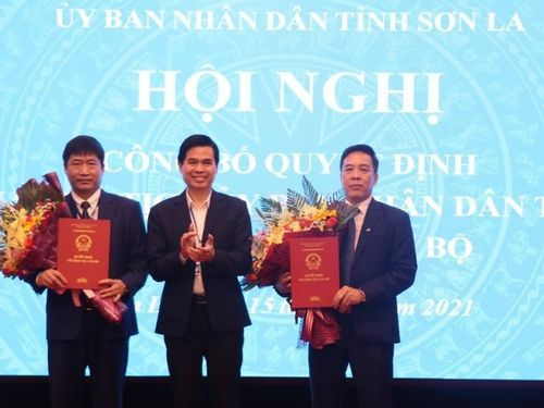 Sơn La bổ nhiệm giám đốc hai sở