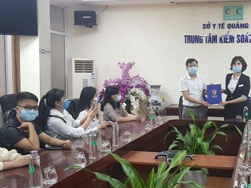 Quảng Ninh tiếp nhận 4.100 liều vaccine Covid-19
