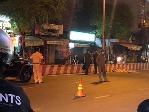 TP.HCM: Thanh niên tử vong trên đường, xe máy văng xa 50m