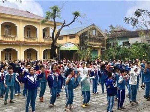 Trường Tiểu học Trần Quốc Toản rộn ràng chuẩn bị KunDance Festival