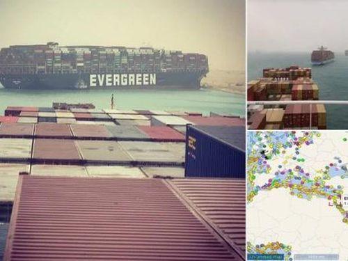 Công ty Nhật xin lỗi về sự cố tàu mắc cạn khiến Kênh đào Suez tắc nghẽn