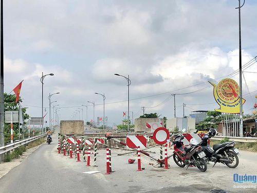 Mong mỏi xóa điểm đen giao thông ở cầu Trà Bồng