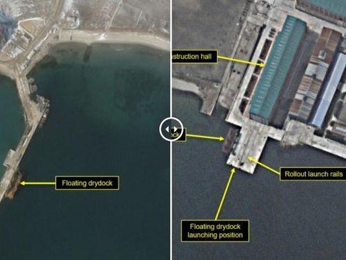 Báo mạng Mỹ: Triều Tiên có thể hạ thủy tàu ngầm được trang bị tên lửa đạn đạo mới