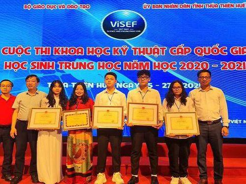 Học sinh Lào Cai đạt giải nhất Cuộc thi Khoa học kỹ thuật cấp quốc gia