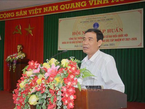 Đắk Lắk đẩy mạnh truyền thông về công tác bầu cử