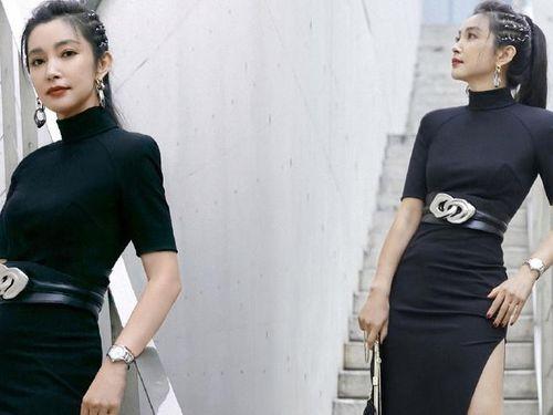Lý Băng Băng U50 tự tin mặc váy ôm xẻ tà, sắc vóc 'ăn đứt' gái đôi mươi