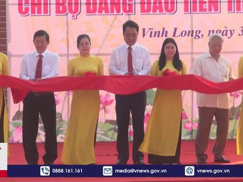 Vĩnh Long khánh thành Nhà bia kỷ niệm thành lập Chi bộ Đảng