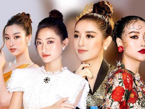 Đỗ Mỹ Linh - Lương Thùy Linh 'cầm trịch' khi chưa hết nhiệm kỳ, Phương Khánh rực rỡ chấm thi quốc tế