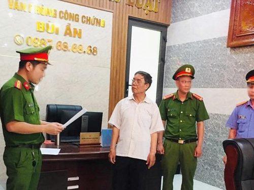 Vụ làm giả sổ đỏ chiếm đoạt tiền tỷ ở Quảng Nam: Bắt giữ một công chứng viên
