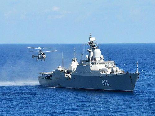 Sức mạnh của hộ vệ hạm Gepard trong biên chế Hải quân Nga