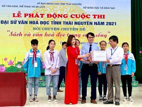 Thái Nguyên: Lan tỏa văn hóa đọc trong học đường