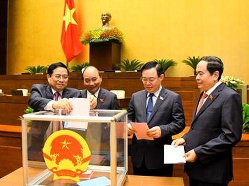 Quốc hội phê chuẩn bổ nhiệm 12 Bộ trưởng và thành viên khác của Chính phủ