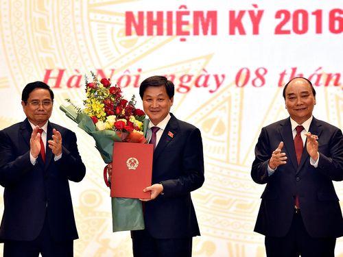 Chùm ảnh: Bàn giao công việc của Thủ tướng Chính phủ